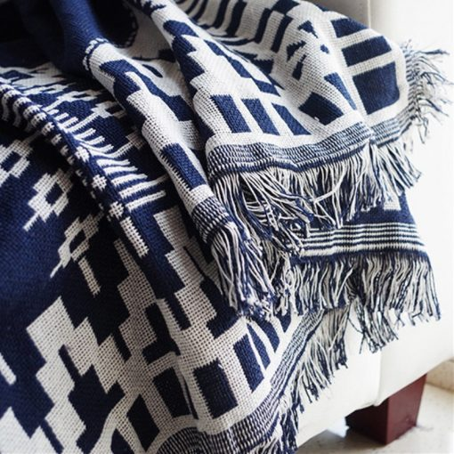 Без названия 4 1 510x510 - throws, sale - Woven Cotton Throw Blanket
