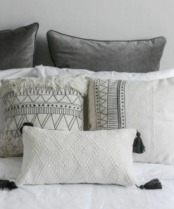 1 247x296 - cushions - Minimalist Tasseled Cotton Cushion Cover
