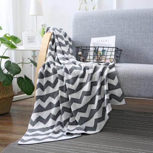 1104 6d7b17 510x510 - throws, sale - Kansas Geometric Cotton Throw Blanket