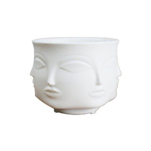1480 4b6637 510x510 - accessories - Dora Maar Head Shaped Vase