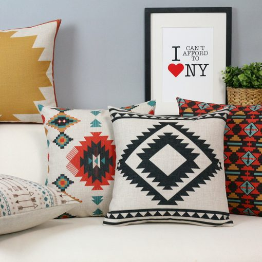 164 8c24f2 510x510 - cushions - Creative Decorative Geometrically Patterned Cotton Cushion Cover