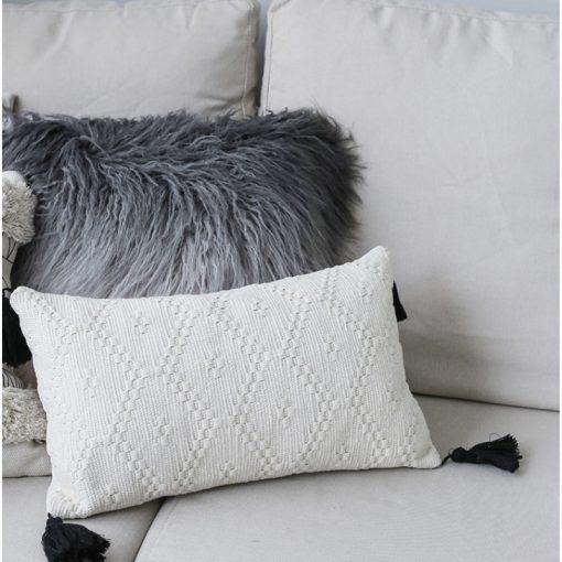 198 58db35 510x510 - cushions - Minimalist Tasseled Cotton Cushion Cover