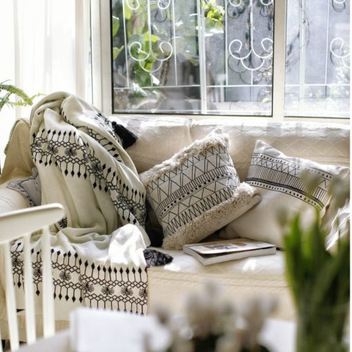 198 f8c28e 510x510 - cushions - Minimalist Tasseled Cotton Cushion Cover