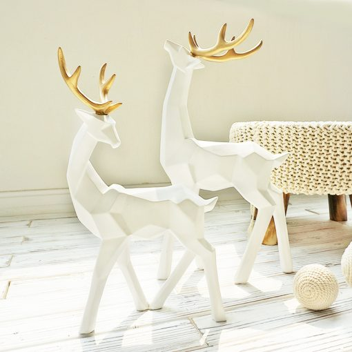 596 3f29b5 510x510 - sale, collectibles - Stylish Decorative Abstract Reindeer Shaped Figurine