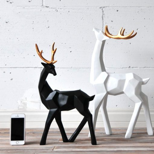 596 4dcc87 510x510 - sale, collectibles - Stylish Decorative Abstract Reindeer Shaped Figurine