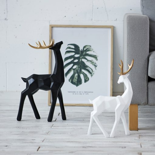 596 5c5c9a 510x510 - sale, collectibles - Stylish Decorative Abstract Reindeer Shaped Figurine
