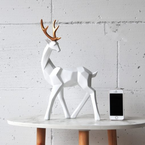 596 99a7f8 510x510 - sale, collectibles - Stylish Decorative Abstract Reindeer Shaped Figurine