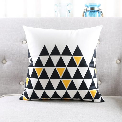 73 1898eb 510x510 - cushions - Cute Decorative Geometrically Patterned Soft Velvet Cushion Cover