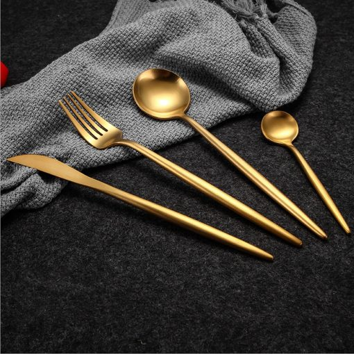 3557 slbb6i 510x510 - tabletop-and-bar, flatware - The Olivia Cutlery Set - In Gold