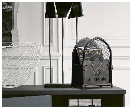 3967 tzudtr 510x420 - decor, collectibles - The Amara Collection English Design Newspaper Holder