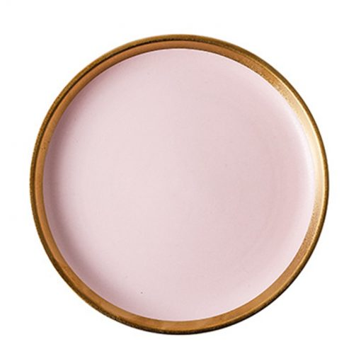 3999 zxtr48 510x510 - tabletop-and-bar, sale, dinnerware - The Ophelia Collection Matte Pink Ceramic Dinnerware