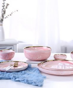 4013 mi7vks 247x296 - tabletop-and-bar, dinnerware - Penelope Collection Pink Marble Dinnerware