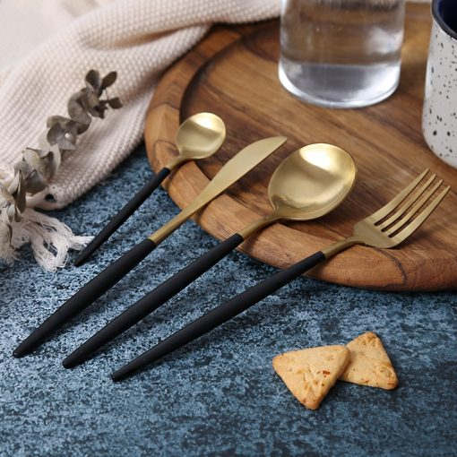 4046 dfupet 510x510 - tabletop-and-bar, flatware - The Olivia Cutlery Set - In Black