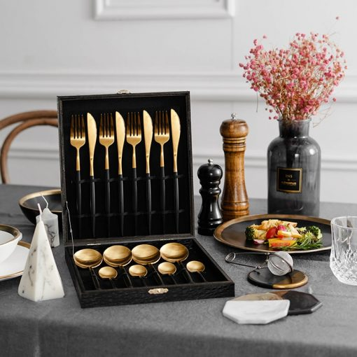 4046 i6mt85 510x510 - tabletop-and-bar, flatware - The Olivia Cutlery Set - In Black