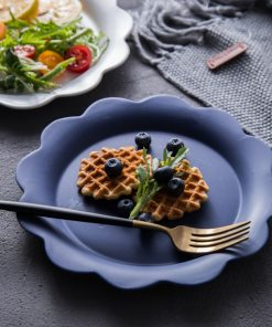4287 bq99xe 247x296 - tabletop-and-bar, dinnerware - Penelope Collection Flower Shaped Ceramic Plates