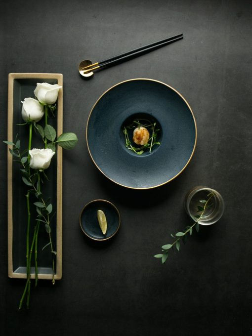 4306 k35q73 510x680 - tabletop-and-bar, sale, dinnerware - The Ash Collection Luxurious Flat Plates