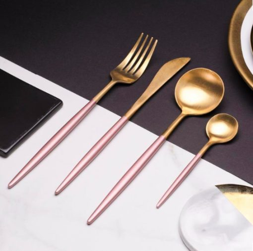 Screen Shot 2019 04 29 at 6.05.57 PM 510x506 - tabletop-and-bar, flatware - The Olivia Cutlery Set - In Pink