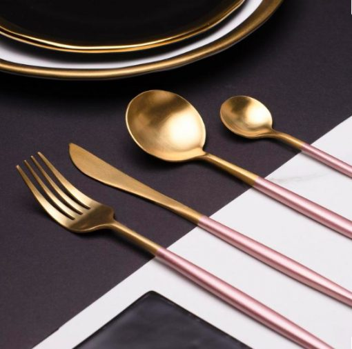 Screen Shot 2019 04 29 at 6.06.23 PM 510x506 - tabletop-and-bar, flatware - The Olivia Cutlery Set - In Pink