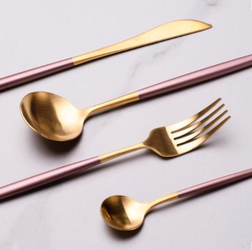 Screen Shot 2019 04 29 at 6.06.42 PM 510x506 - tabletop-and-bar, flatware - The Olivia Cutlery Set - In Pink