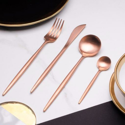 Screen Shot 2019 04 29 at 6.09.06 PM 510x510 - tabletop-and-bar, flatware - The Olivia Cutlery Set - In Rose Gold