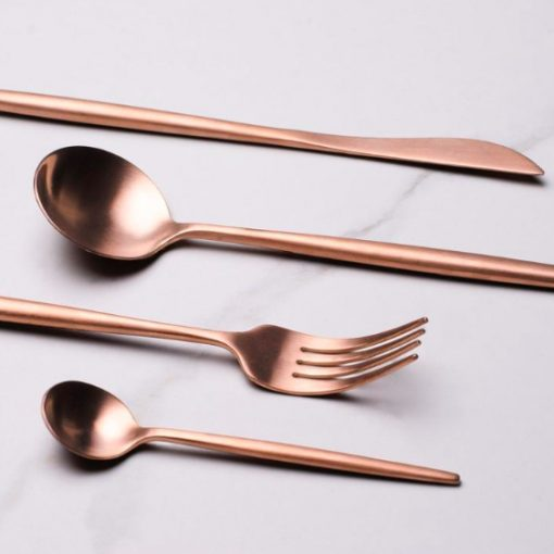 Screen Shot 2019 04 29 at 6.09.37 PM 510x510 - tabletop-and-bar, flatware - The Olivia Cutlery Set - In Rose Gold