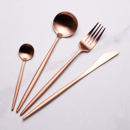 Screen Shot 2019 04 29 at 6.09.55 PM 510x510 - tabletop-and-bar, flatware - The Olivia Cutlery Set - In Rose Gold