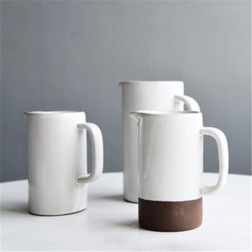 4530 6cswcn 510x510 - tabletop-and-bar, dinnerware - The Ash Collection White Ceramic Pitchers