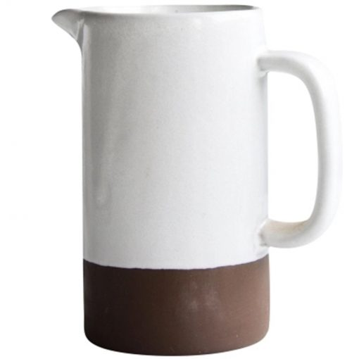 4530 bncfes 510x510 - tabletop-and-bar, dinnerware - The Ash Collection White Ceramic Pitchers