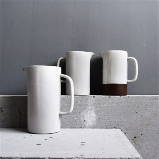 4530 kvtefs 510x510 - tabletop-and-bar, dinnerware - The Ash Collection White Ceramic Pitchers