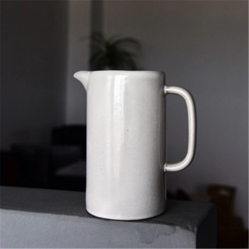 4530 waf3zd 510x510 - tabletop-and-bar, dinnerware - The Ash Collection White Ceramic Pitchers