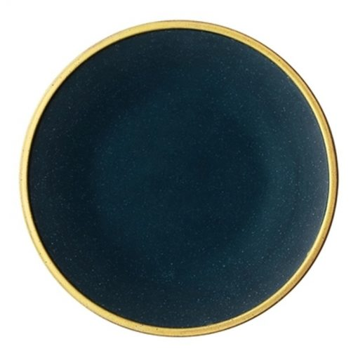 4642 ggomm5 510x510 - tabletop-and-bar, dinnerware - The Ash Collection Jade Ceramic Dishes with Golden Accents