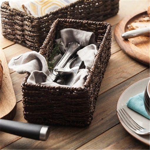 4679 8aka6v 510x510 - trays-and-storage, tabletop-and-bar, sale - The Convivial Collection Basket for Cutlery and Food Storage