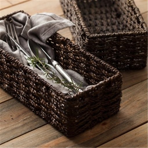 4679 hsoynd 510x510 - trays-and-storage, tabletop-and-bar, sale - The Convivial Collection Basket for Cutlery and Food Storage
