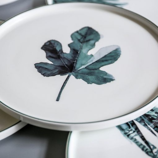 5165 shhit1 510x510 - tabletop-and-bar, dinnerware - The Ophelia Collection Botanical Plates