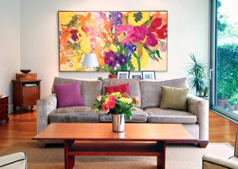How to hang wall art - Voguenest