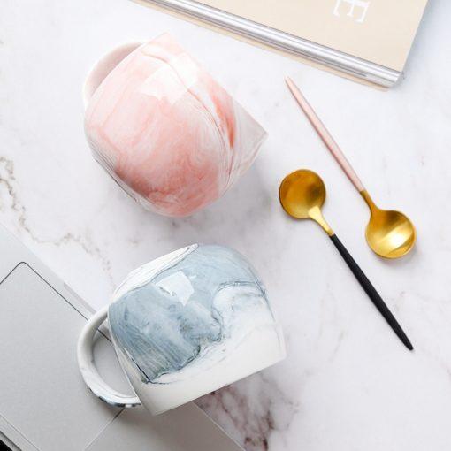 """5620 818c3adc37610c92e0e6dea099416e6c 510x510 - tabletop-and-bar, drinkware - """"Marblelicious"""" Ceramic Mug"""