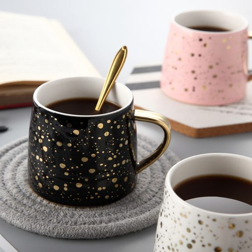 5652 35ae12a170456befac485bbd80fb4078 510x510 - tabletop-and-bar, drinkware - Starry Sky Patterned Ceramic Coffee Mugs