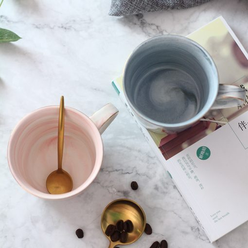 5656 54e253c0864a9363041b2dc43f3ae562 510x510 - tabletop-and-bar, drinkware - Marble Porcelain Coffee Mugs