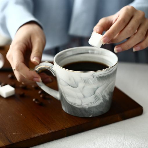 5656 8e5029789a64931a32b888cfed8fe331 510x510 - tabletop-and-bar, drinkware - Marble Porcelain Coffee Mugs