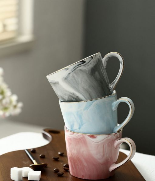 5656 c9805676ab5574dbba0ced3e2678dbba 510x595 - tabletop-and-bar, drinkware - Marble Porcelain Coffee Mugs