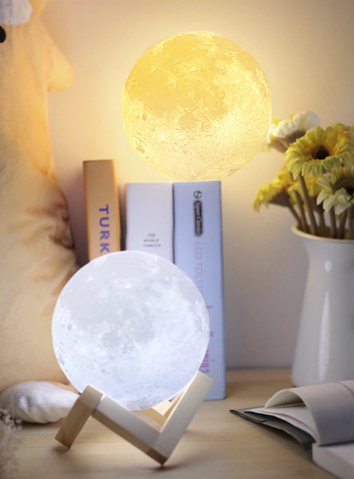 Screen Shot 2019 04 15 at 12.23.40 AM - lighting - 3D Moon Shaped LED Night Lamp