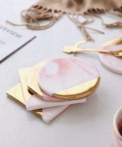 Screen Shot 2019 04 24 at 1.16.47 PM 247x296 - tabletop-and-bar, drinkware - Rose Marble Ceramic Coaster