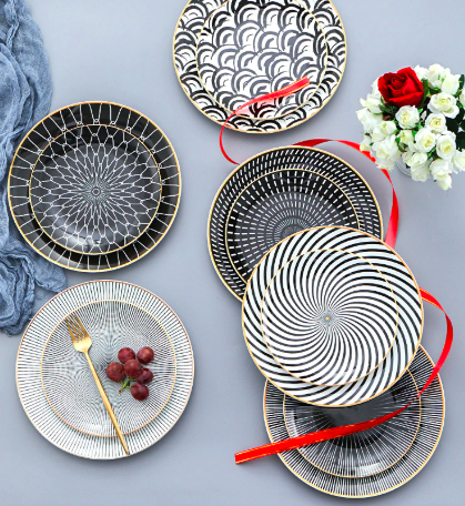 "Screen Shot 2019 04 24 at 11.55.00 AM - tabletop-and-bar, new-arrivals, dinnerware - The ""ESCURA"" Collection Dinnerware"