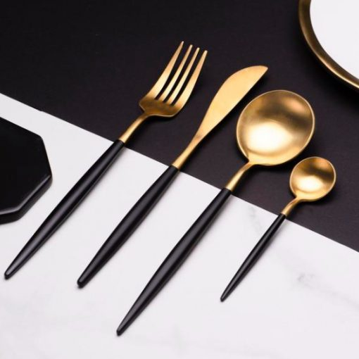 Screen Shot 2019 04 29 at 6.55.42 PM 510x510 - tabletop-and-bar, flatware - The Olivia Cutlery Set - In Black