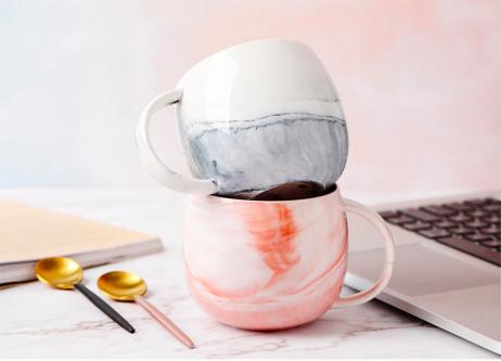 """Screen Shot 2019 05 06 at 12.50.20 PM - tabletop-and-bar, drinkware - """"Marblelicious"""" Ceramic Mug"""